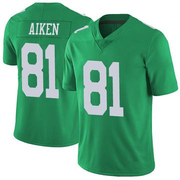 Youth Nike Philadelphia Eagles Kamar Aiken Green Vapor Untouchable Jersey - Limited