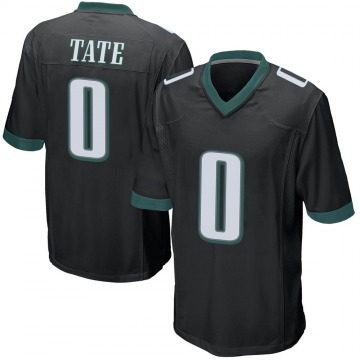 Youth Nike Philadelphia Eagles Khalil Tate Black Alternate Jersey - Game