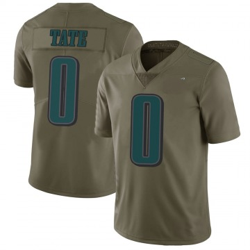 Youth Nike Philadelphia Eagles Khalil Tate Green 2017 Salute to Service Jersey - Limited