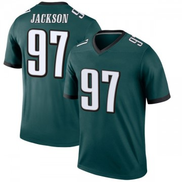 Youth Nike Philadelphia Eagles Malik Jackson Green Jersey - Legend