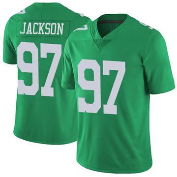 Youth Nike Philadelphia Eagles Malik Jackson Green Vapor Untouchable Jersey - Limited