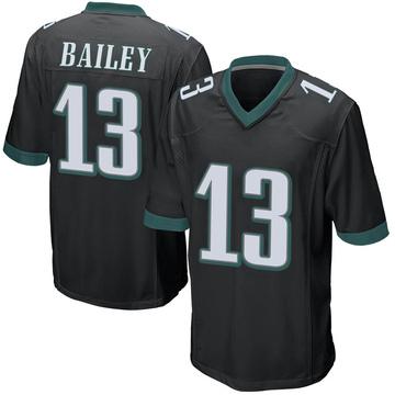Youth Nike Philadelphia Eagles Manasseh Bailey Black Alternate Jersey - Game