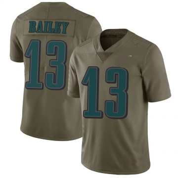 Youth Nike Philadelphia Eagles Manasseh Bailey Green 2017 Salute to Service Jersey - Limited