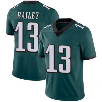 Youth Nike Philadelphia Eagles Manasseh Bailey Green Midnight 100th Vapor Jersey - Limited