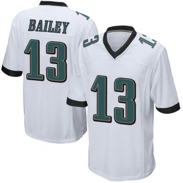 Youth Nike Philadelphia Eagles Manasseh Bailey White Jersey - Game