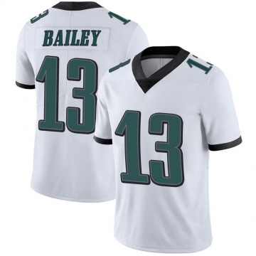 Youth Nike Philadelphia Eagles Manasseh Bailey White Vapor Untouchable Jersey - Limited