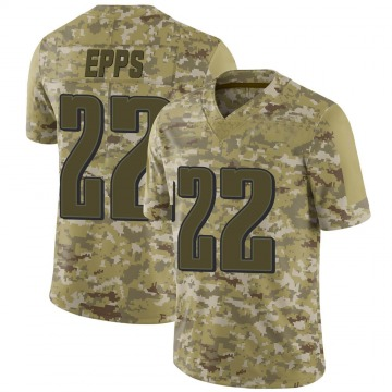 Youth Nike Philadelphia Eagles Marcus Epps Camo 2018 Salute to Service Jersey - Limited