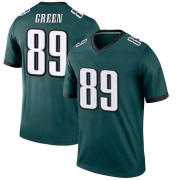 Youth Nike Philadelphia Eagles Marcus Green Green Jersey - Legend