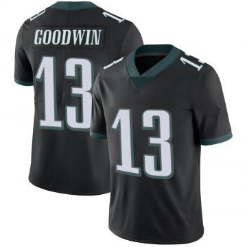 Youth Nike Philadelphia Eagles Marquise Goodwin Black Alternate Vapor Untouchable Jersey - Limited