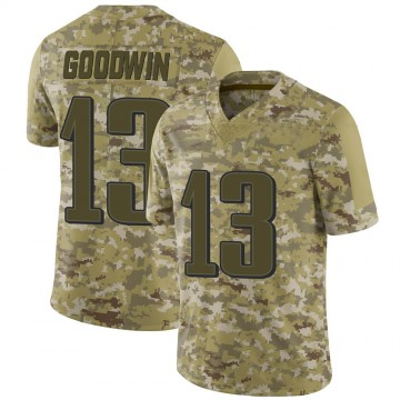 Youth Nike Philadelphia Eagles Marquise Goodwin Camo 2018 Salute to Service Jersey - Limited