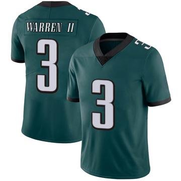 Youth Nike Philadelphia Eagles Michael Warren II Green Midnight Team Color Vapor Untouchable Jersey - Limited