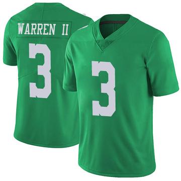 Youth Nike Philadelphia Eagles Michael Warren II Green Vapor Untouchable Jersey - Limited