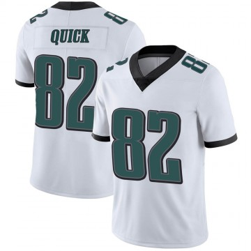 Youth Nike Philadelphia Eagles Mike Quick White Vapor Untouchable Jersey - Limited