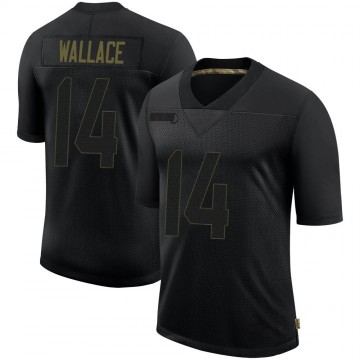Youth Nike Philadelphia Eagles Mike Wallace Black 2020 Salute To Service Jersey - Limited