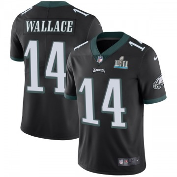Youth Nike Philadelphia Eagles Mike Wallace Black Alternate Super Bowl LII Vapor Untouchable Jersey - Limited