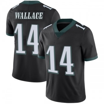 Youth Nike Philadelphia Eagles Mike Wallace Black Alternate Vapor Untouchable Jersey - Limited