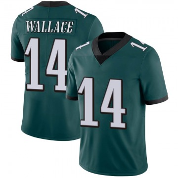 Youth Nike Philadelphia Eagles Mike Wallace Green Midnight 100th Vapor Jersey - Limited