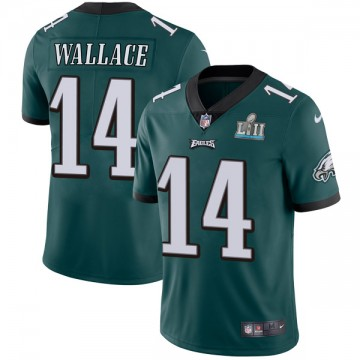 Youth Nike Philadelphia Eagles Mike Wallace Green Midnight Team Color Super Bowl LII Vapor Untouchable Jersey - Limited