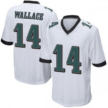 Youth Nike Philadelphia Eagles Mike Wallace White Jersey - Game