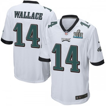 Youth Nike Philadelphia Eagles Mike Wallace White Super Bowl LII Jersey - Game