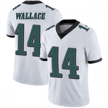 Youth Nike Philadelphia Eagles Mike Wallace White Vapor Untouchable Jersey - Limited