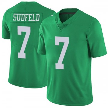 Youth Nike Philadelphia Eagles Nate Sudfeld Green Vapor Untouchable Jersey - Limited
