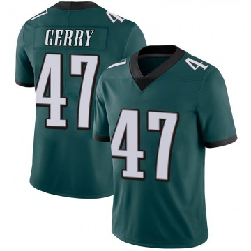 Youth Nike Philadelphia Eagles Nathan Gerry Green Midnight 100th Vapor Jersey - Limited