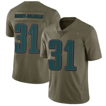 Youth Nike Philadelphia Eagles Nickell Robey-Coleman Green 2017 Salute to Service Jersey - Limited