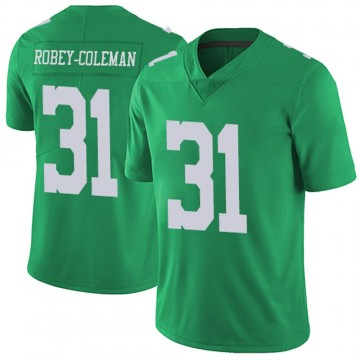 Youth Nike Philadelphia Eagles Nickell Robey-Coleman Green Vapor Untouchable Jersey - Limited