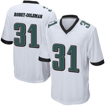 Youth Nike Philadelphia Eagles Nickell Robey-Coleman White Jersey - Game