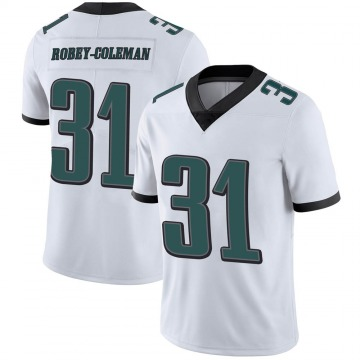 Youth Nike Philadelphia Eagles Nickell Robey-Coleman White Vapor Untouchable Jersey - Limited