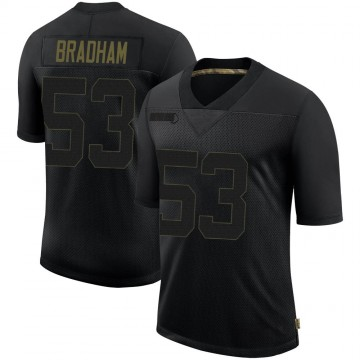 Youth Nike Philadelphia Eagles Nigel Bradham Black 2020 Salute To Service Jersey - Limited