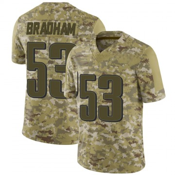 Youth Nike Philadelphia Eagles Nigel Bradham Camo 2018 Salute to Service Jersey - Limited