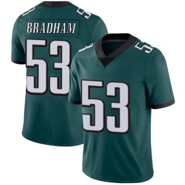 Youth Nike Philadelphia Eagles Nigel Bradham Green Midnight 100th Vapor Jersey - Limited