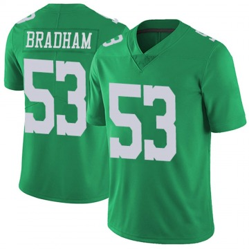 Youth Nike Philadelphia Eagles Nigel Bradham Green Vapor Untouchable Jersey - Limited