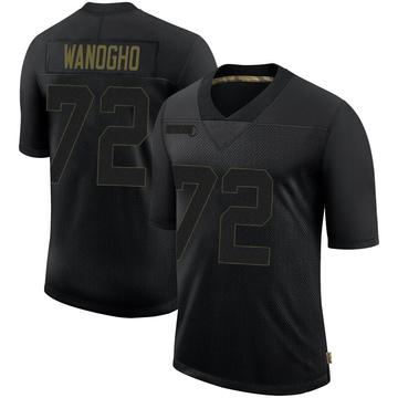 Youth Nike Philadelphia Eagles Prince Tega Wanogho Black 2020 Salute To Service Jersey - Limited