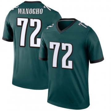 Youth Nike Philadelphia Eagles Prince Tega Wanogho Green Jersey - Legend