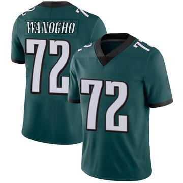 Youth Nike Philadelphia Eagles Prince Tega Wanogho Green Midnight Team Color Vapor Untouchable Jersey - Limited
