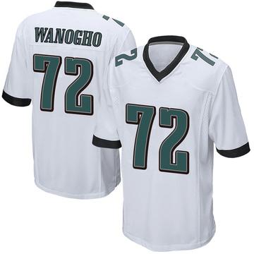 Youth Nike Philadelphia Eagles Prince Tega Wanogho White Jersey - Game