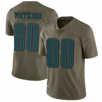 Youth Nike Philadelphia Eagles Quez Watkins Green 2017 Salute to Service Jersey - Limited