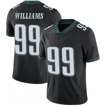 Youth Nike Philadelphia Eagles Raequan Williams Black Alternate Vapor Untouchable Jersey - Limited