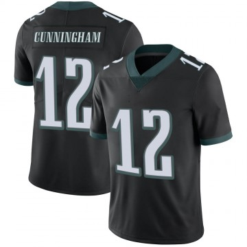 Youth Nike Philadelphia Eagles Randall Cunningham Black Alternate Vapor Untouchable Jersey - Limited