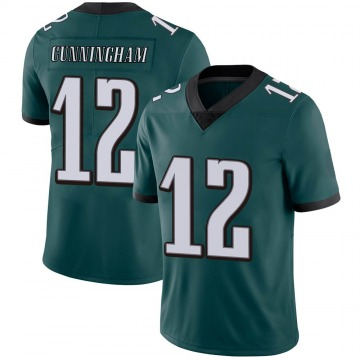 Youth Nike Philadelphia Eagles Randall Cunningham Green Midnight Team Color Vapor Untouchable Jersey - Limited