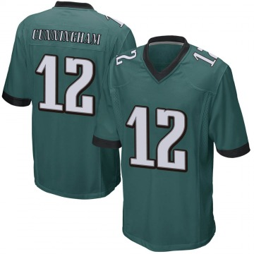 Youth Nike Philadelphia Eagles Randall Cunningham Green Team Color Jersey - Game