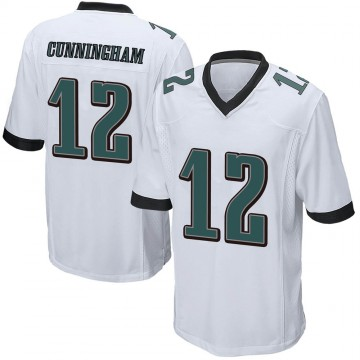 Youth Nike Philadelphia Eagles Randall Cunningham White Jersey - Game