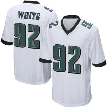 Youth Nike Philadelphia Eagles Reggie White White Jersey - Game