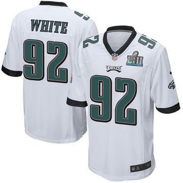 Youth Nike Philadelphia Eagles Reggie White White Super Bowl LII Jersey - Game