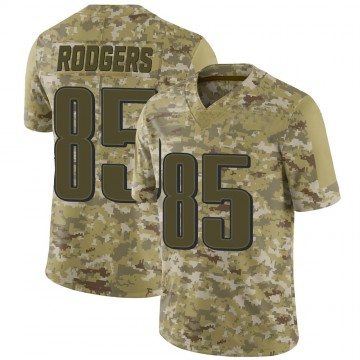 Youth Nike Philadelphia Eagles Richard Rodgers Camo 2018 Salute to Service Jersey - Limited