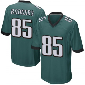 Youth Nike Philadelphia Eagles Richard Rodgers Green Team Color Jersey - Game