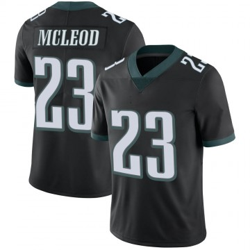 Youth Nike Philadelphia Eagles Rodney McLeod Black Alternate Vapor Untouchable Jersey - Limited